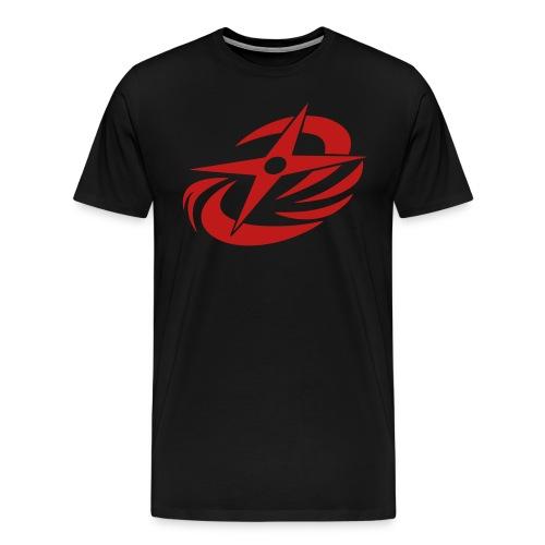 N-N-Ninja! (Red Glitter XL Sizes) - Men's Premium T-Shirt