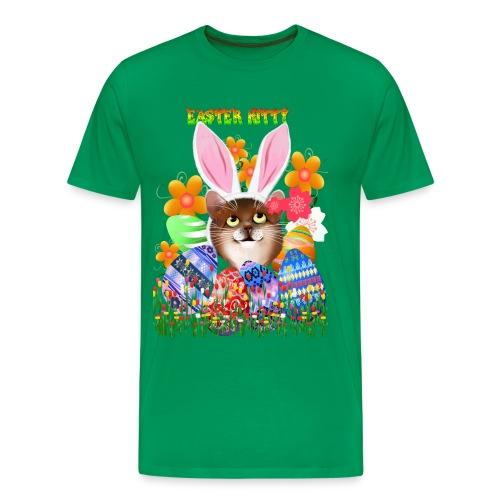 EASTER KITTY - Men's Premium T-Shirt