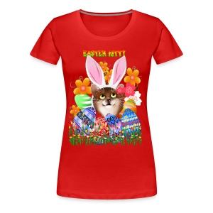 EASTER KITTY - Women's Premium T-Shirt