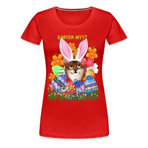 EASTER KITTY - Women's Premium T-Shirt