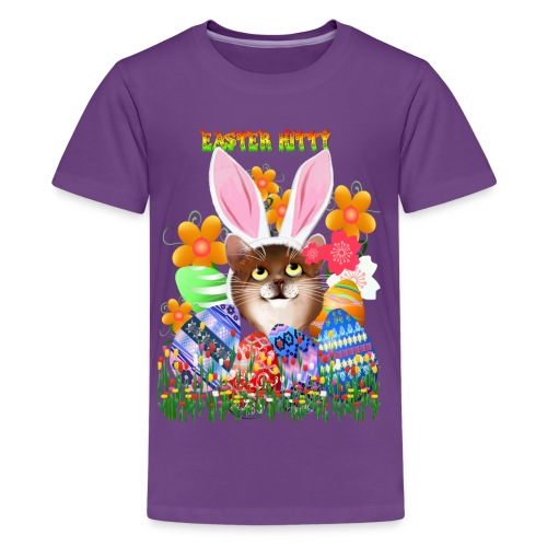 EASTER KITTY - Kids' Premium T-Shirt