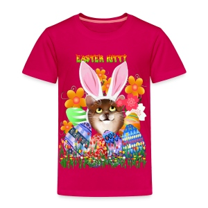EASTER KITTY - Toddler Premium T-Shirt