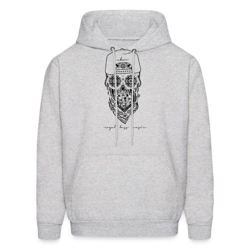 Black Skull Hoodie - Men's Hoodie
