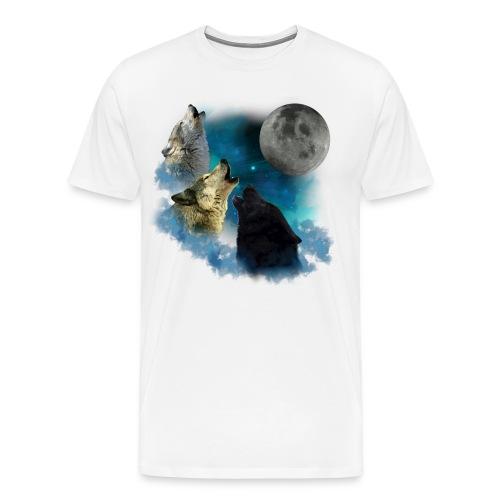 wolf shirt for men - Men's Premium T-Shirt