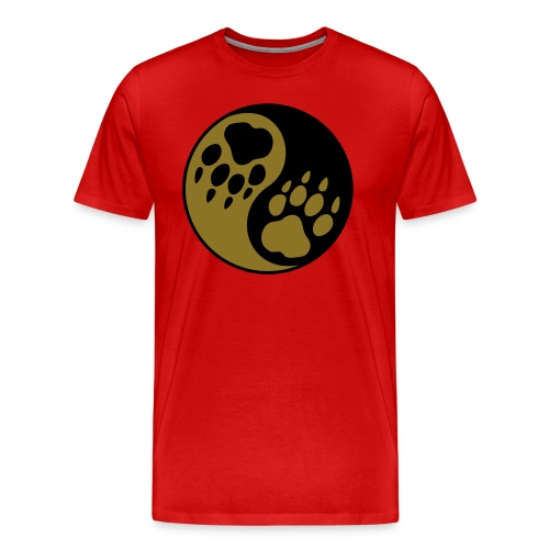 wolf symbol shirt for men - Men's Premium T-Shirt