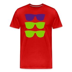 glasses shirt for men - Men's Premium T-Shirt