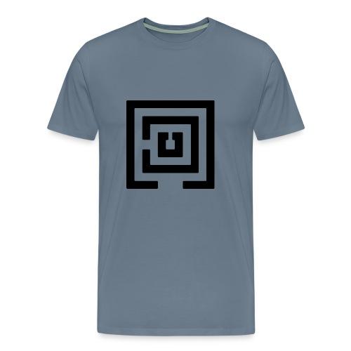 Black Logo Mens - Men's Premium T-Shirt