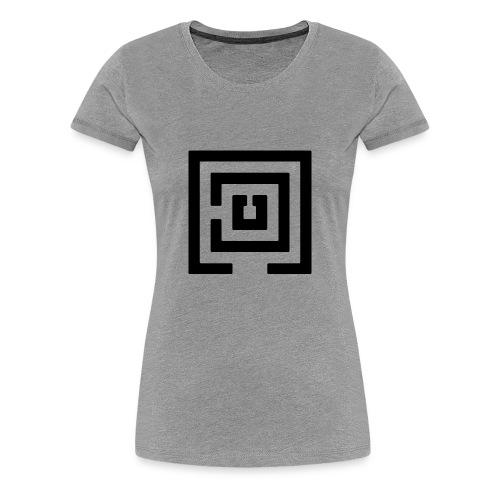 Black Logo Womens - Women's Premium T-Shirt
