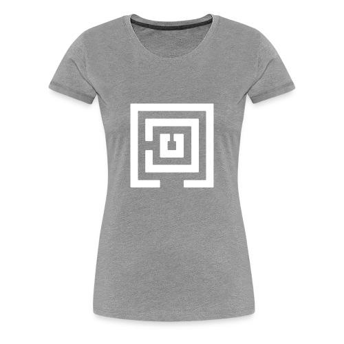 White Logo Womans - Women's Premium T-Shirt