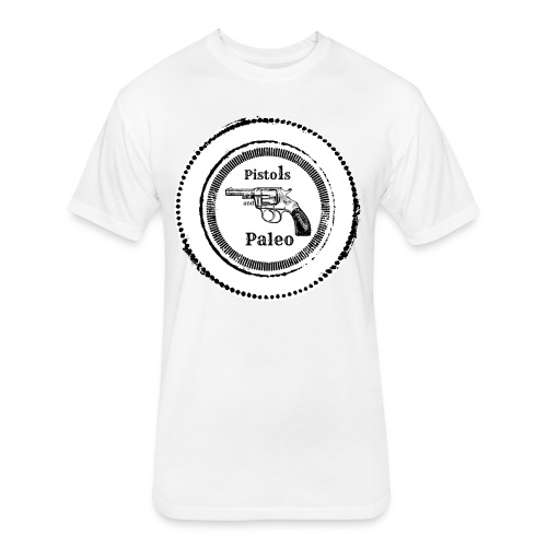 American Pistols and Paleo - Fitted Cotton/Poly T-Shirt by Next Level