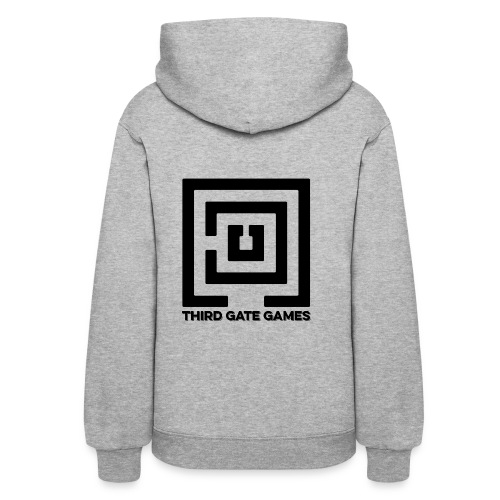 Black Logo Sweatshirt Womens - Women's Hoodie