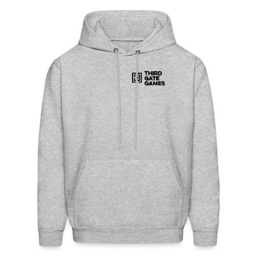Black Logo Sweatshirt Mens - Men's Hoodie