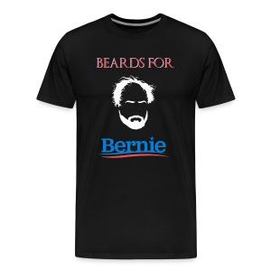 Beards For Bernie T-Shirt - Men's Premium T-Shirt