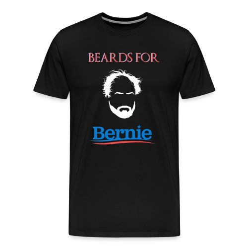 Beards For Bernie T-Shirt - Men's Premium T-Shirt