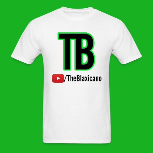 Men's TheBlaxicano Official Tee - Alternate/White - Men's T-Shirt