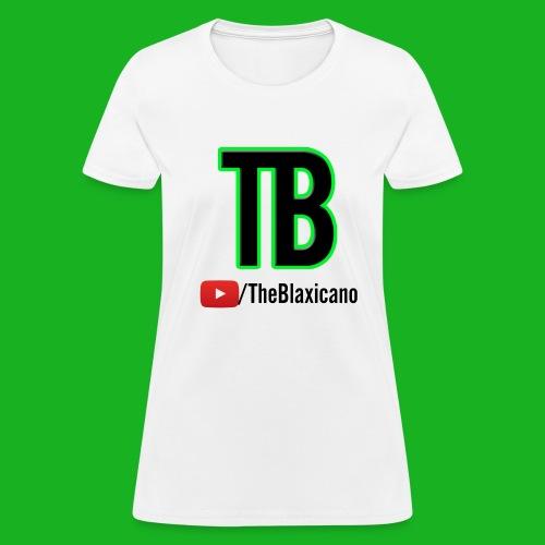 Women's TheBlaxicano Official Tee - Alternate/White - Women's T-Shirt