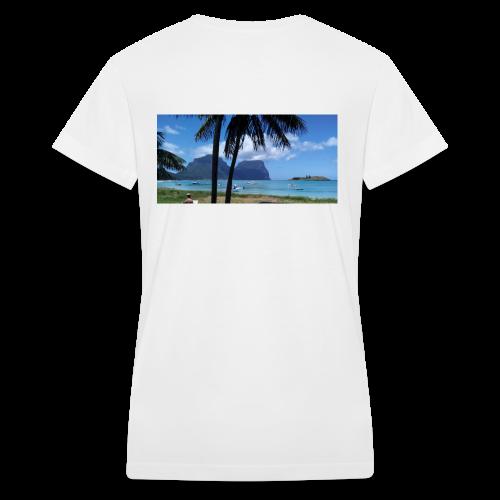Sea Life T-Shirt - Women's V-Neck T-Shirt