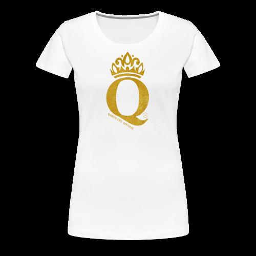 Queen Life Logo Tee - Women's Premium T-Shirt