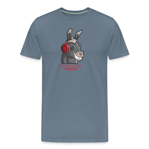 Male DonkeyKick Headphones - Men's Premium T-Shirt