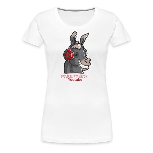 Female DonkeyKick Headphones - Women's Premium T-Shirt