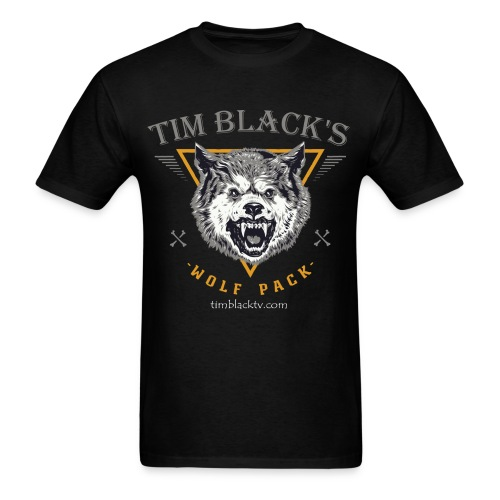 Tim Black's Wolf Pack Men's Growl - Men's T-Shirt