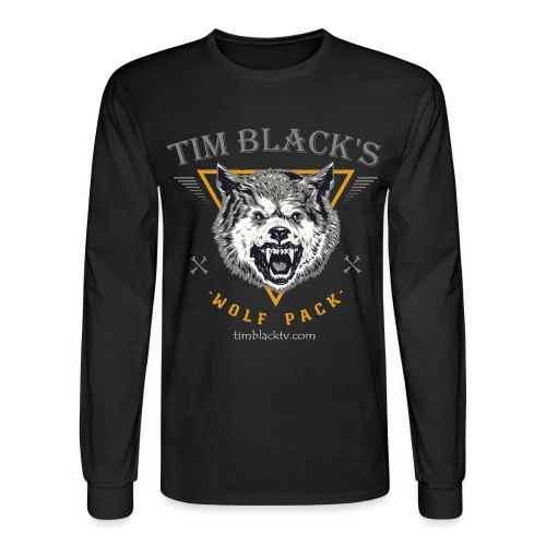Tim Black's Wolf Pack Men's Growl - Men's Long Sleeve T-Shirt