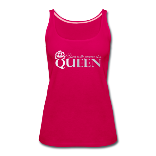 Queen Life Logo Tee - Women's Premium Tank Top