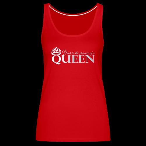 Queen Life Logo Tee - Women's Premium Tank Top