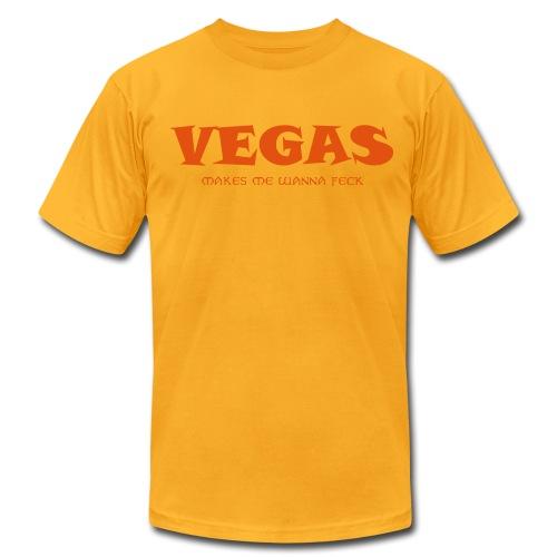 Feckin Eddie Vegas T - Men's Fine Jersey T-Shirt