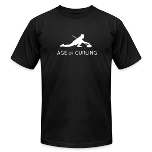 Age of Curling T-Shirt - Men's Fine Jersey T-Shirt