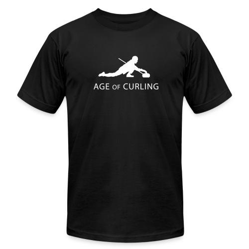 Age of Curling T-Shirt - Men's Fine Jersey T-Shirt