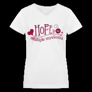 Women's T-Shirts ~ Women's V-Neck T-Shirt ~ Article 104658755