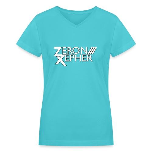 Classic ZeronXepher Women V-Neck Shirt - Women's V-Neck T-Shirt