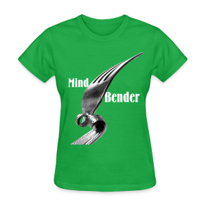 Mind Bender White Type (Womens) - Women's T-Shirt