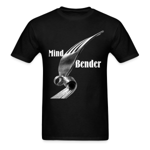 Mind Bender White Type (Mens) - Men's T-Shirt