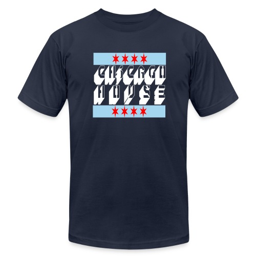 Chicago House tee - Men's Fine Jersey T-Shirt