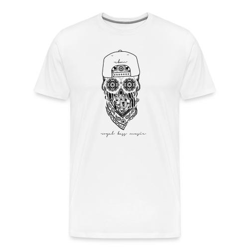 Black Skull Shirt - Men's Premium T-Shirt