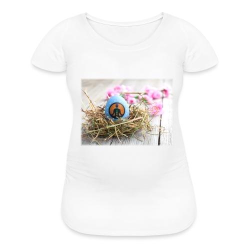Women's Maternity T-Shirt Easter egg chakras - Women's Maternity T-Shirt