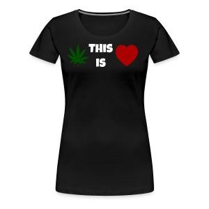 This Is Love (Women) - Women's Premium T-Shirt
