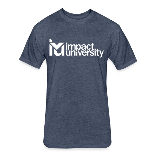 Impact University Tee  - Fitted Cotton/Poly T-Shirt by Next Level