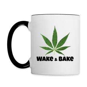Wake & Bake  - Contrast Coffee Mug