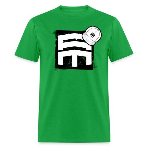 Abe Macias White Logo T-Shirt - Men's T-Shirt