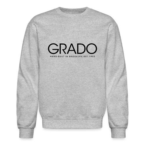 Grado Crewneck - Black Text - Crewneck Sweatshirt