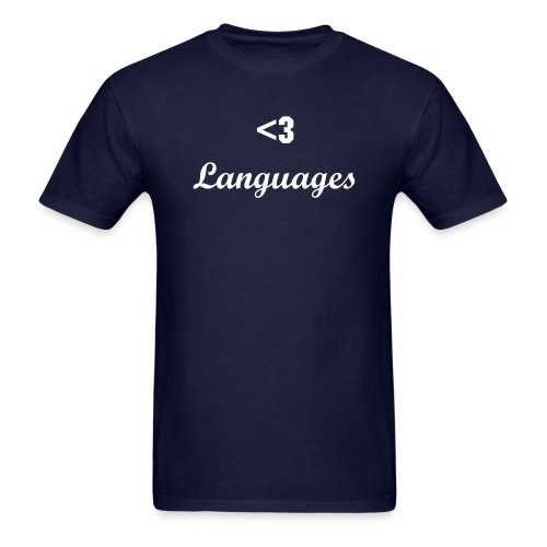 Love Languages - Men's T-Shirt
