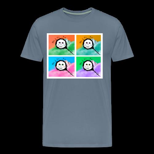 Premium Men's Skull Fairy Warhol Tee - Men's Premium T-Shirt