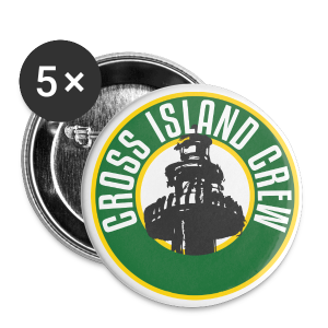 Cross Island Crew Buttons - Large - Large Buttons