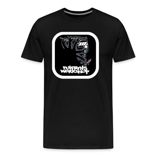 Futprnts Workshop Creator Men's T-Shirt - Men's Premium T-Shirt