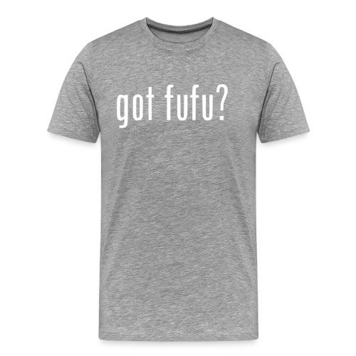 Mens-PrmTee-Heather-White - Men's Premium T-Shirt