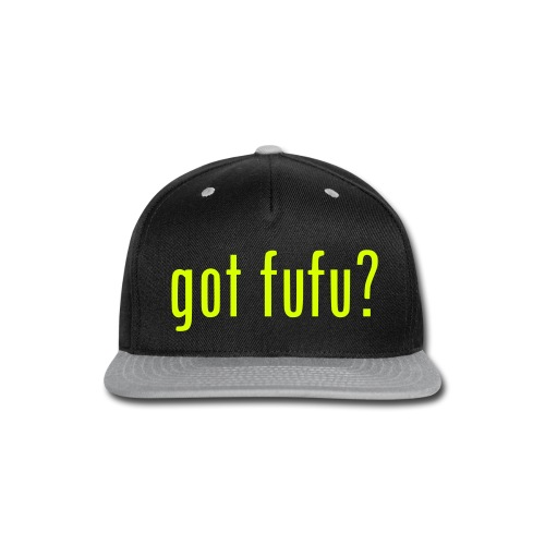 Accessories-- Snapback - Black-NeonYellow - Snap-back Baseball Cap