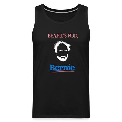 Beards For Bernie Muscle T-shirt - Men's Premium Tank